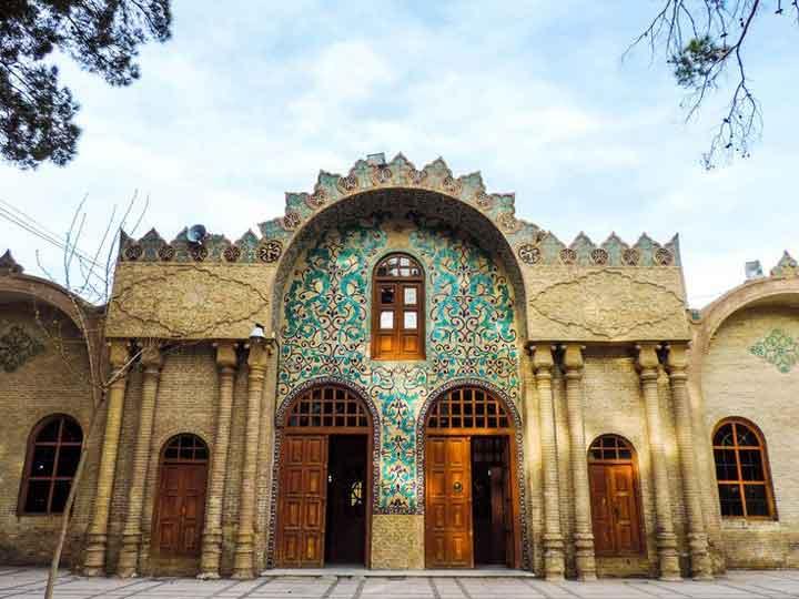 جاهای دیدنی کرمان - کتابخانه ملی