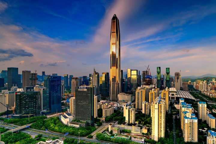بلندترین برج های جهان - مرکز تجارت جهانی پینگ ان، چین