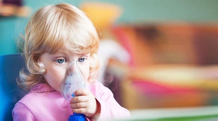 شیوع آسم کودکان
