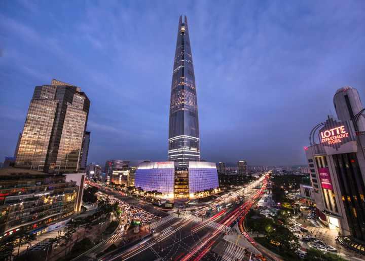 بلندترین برج های جهان - برج جهانی لوته (Lotte World Tower)، کره جنوبی