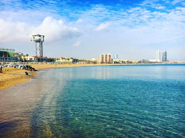 سواحل بارسلونا - جاهای دیدنی بارسلونا