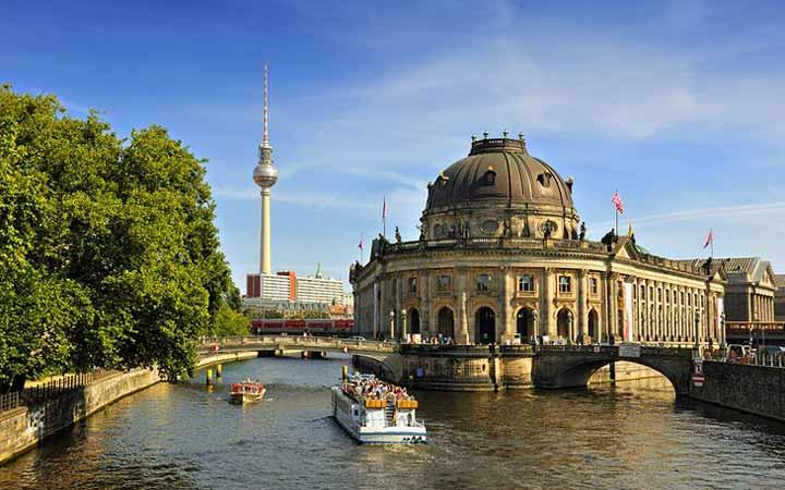 جاهای دیدنی آلمان - جزیرهی موزهها