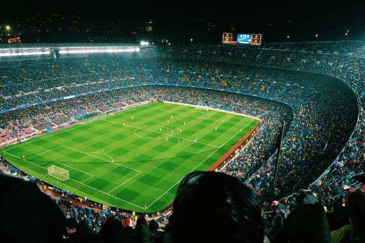 ورزشگاه نیوکمپ از جاهای دیدنی بارسلونا