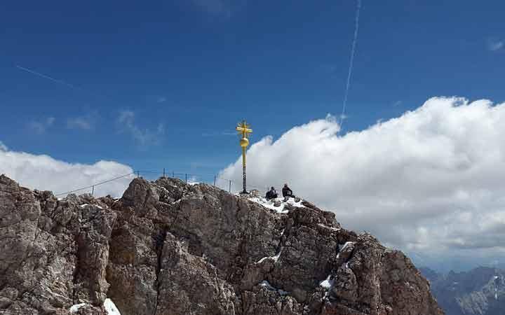 جاهای دیدنی آلمان - کوه تِسوگاِشپیتسه