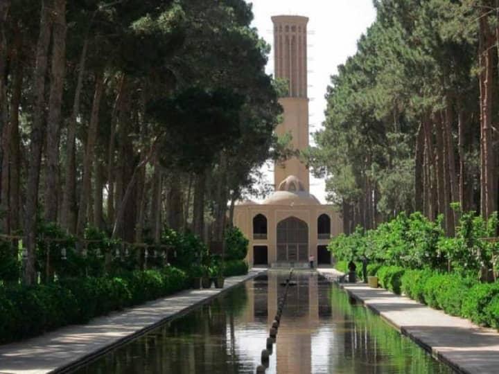 از جاهای دیدنی یزد - باغ دولت آباد