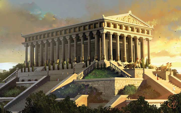عجایب هفتگانه جهان - معبد آرتمیس