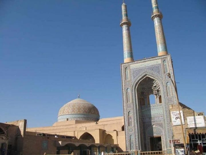 از جاهای دیدنی یزد - مسجد جامع