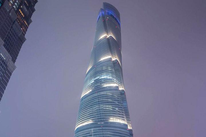 بلندترین برج های جهان - برج شانگهای، چین