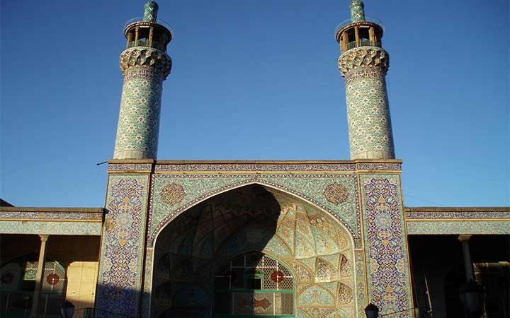 جاهای دیدنی همدان - مسجد جامع