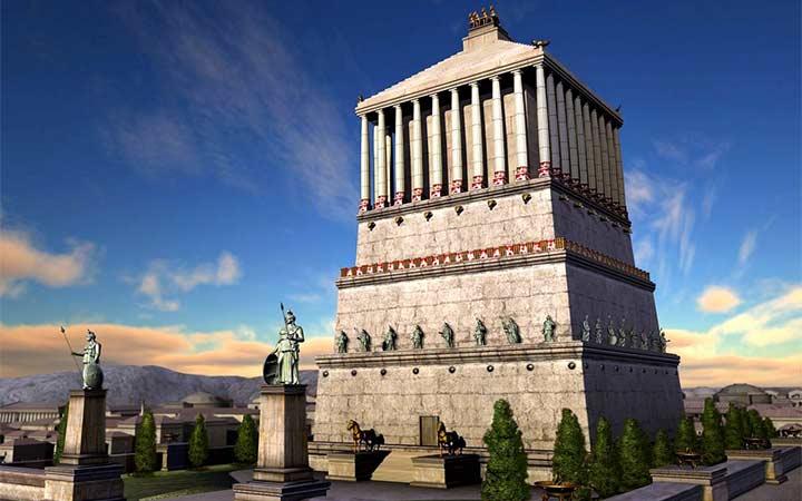 عجایب هفتگانه جهان - آرامگاه هالیکارناسوس