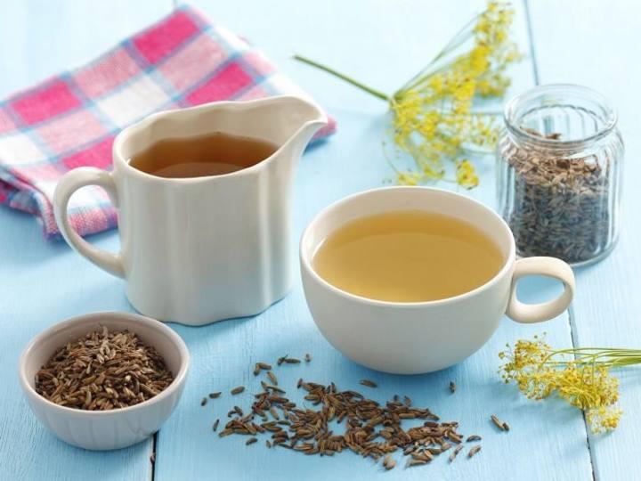چای رازیانه از درمان های خانگی مفید برای کاهش اسید معده