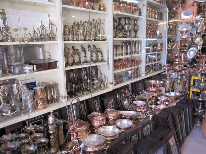 جاهای دیدنی کرمان - بازار مسگرها