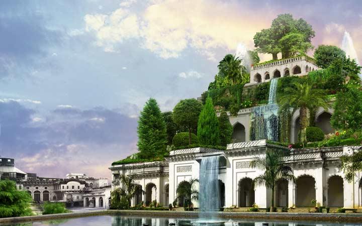 عجایب هفتگانه جهان - باغهای معلق بابل