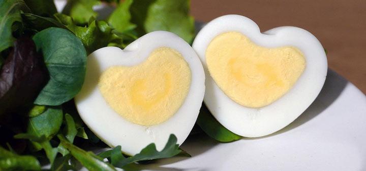 خواص تخم مرغ و کاهش ابتلا به بیماریهای قلبی