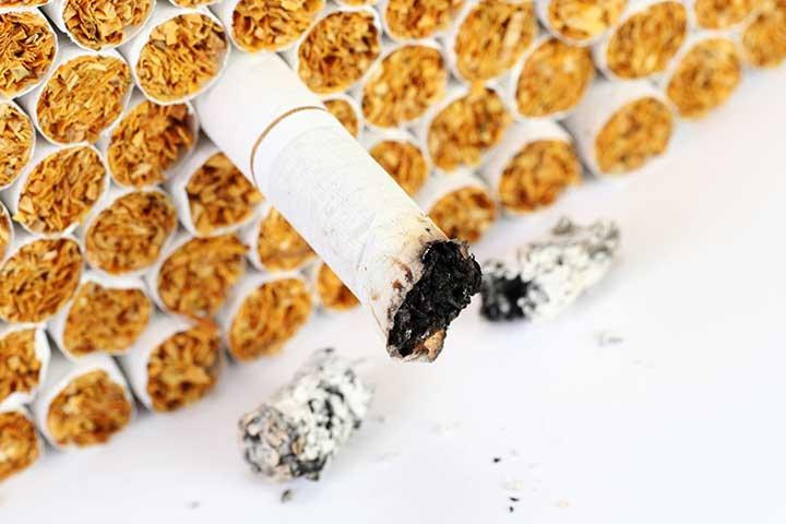 دود کردن تنباکو و نیکوتین