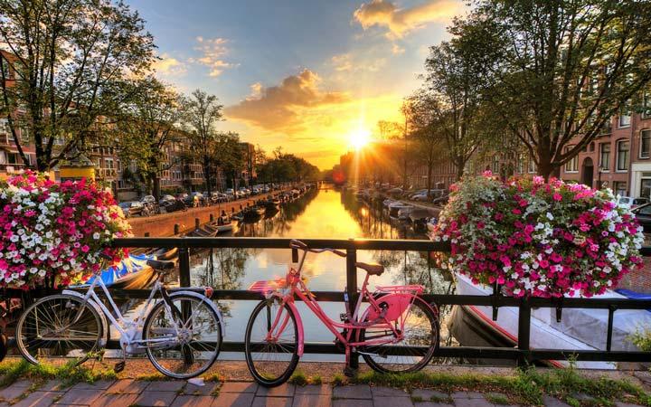 جاهای دیدنی هلند - گذرگاههای آبی آمستردام