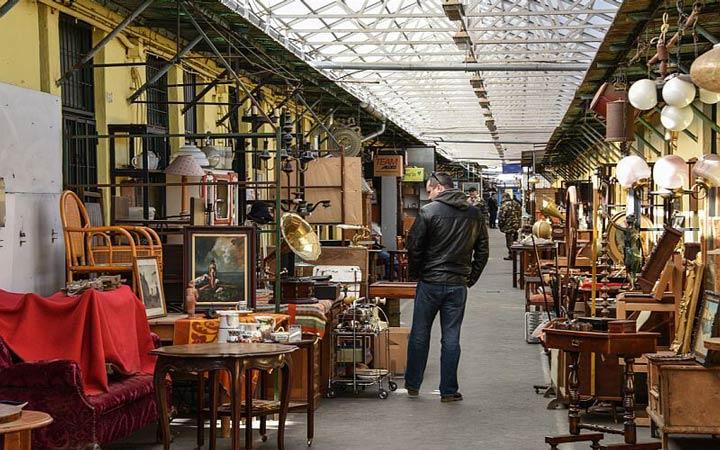 جاهای دیدنی بوداپست - بازار سمساری اِچِری