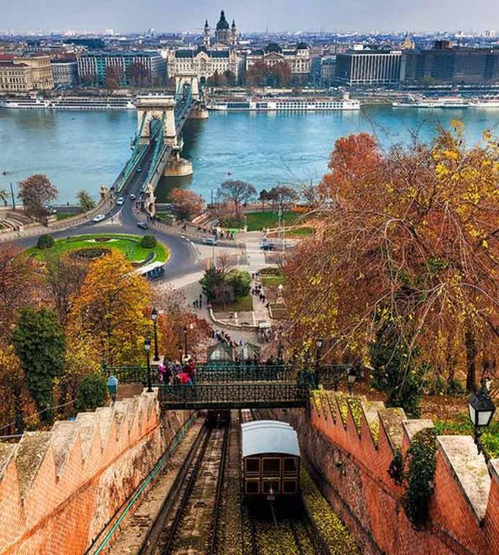 جاهای دیدنی بوداپست - قطار کابلی تپهی قلعهی بودا