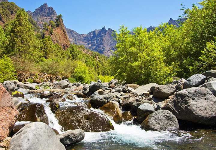 جزایر قناری - پارک ملی کالدِرا دِ تابورییِنته، لا پالما