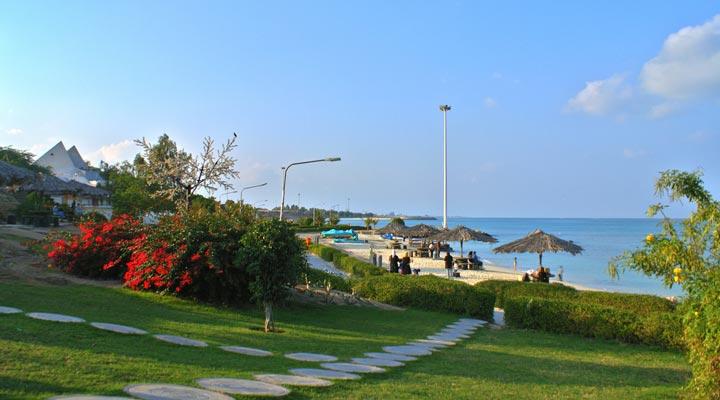 جاهای دیدنی کیش - ساحل مرجان