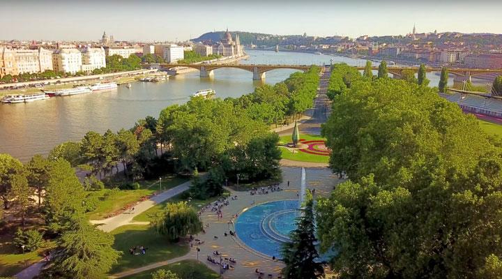 جاهای دیدنی بوداپست - جزیرهی مارگارت