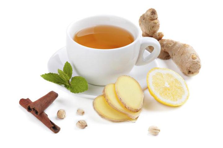 طرز تهیه چای زنجبیل با لیمو