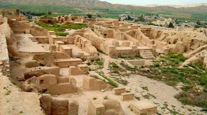 جاهای دیدنی کیش - شهر باستانی حریره