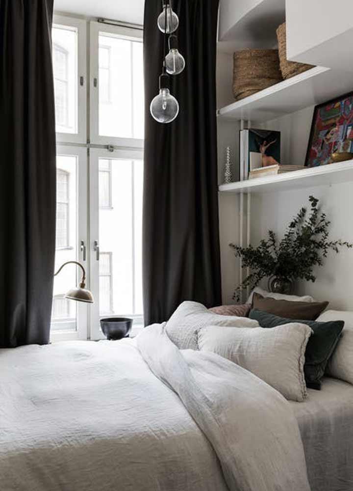 چیدمان اتاق خواب کوچک - استفادهی بهینه از دیوارها