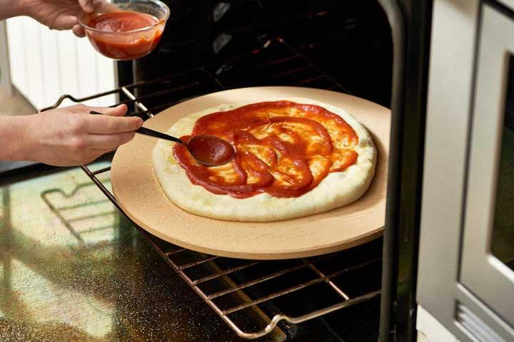 طرز تهیه خمیر پیتزا - مواد