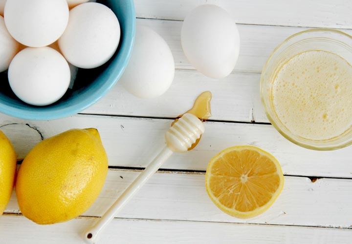 ماسک سفیده تخم مرغ با عسل