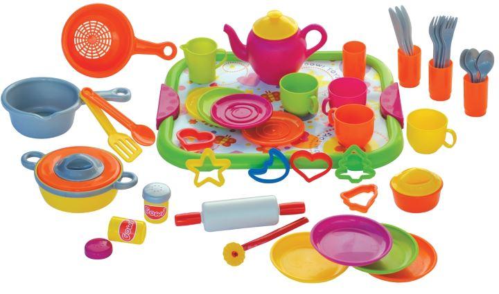 اسباب بازی نوزاد - وسایل آشپزخانه پلاستیکی