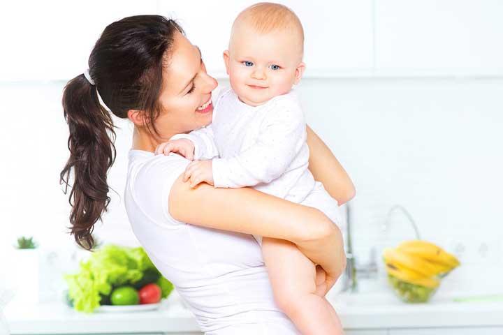 رژیم لاغری در دوران شیردهی - مادر