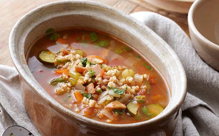 طرز تهیه سوپ جو - سوپ جو با سبزیجات