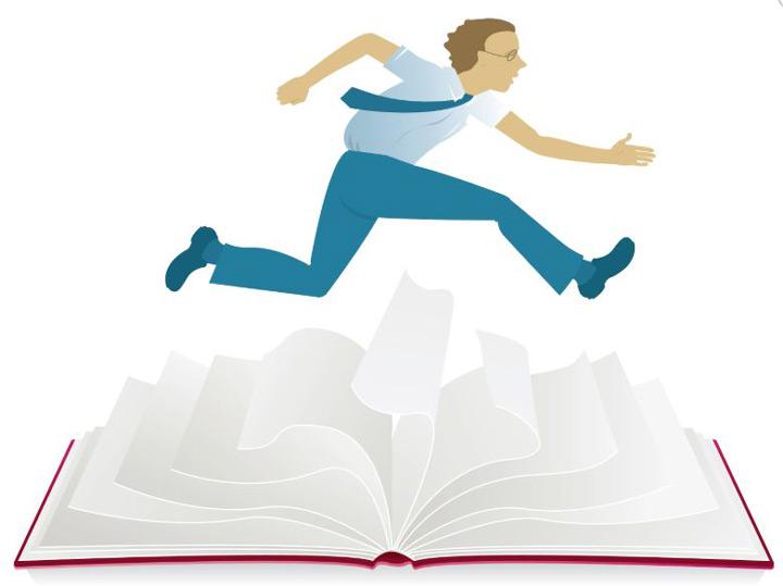 تندخوانی - یادگیری سریع