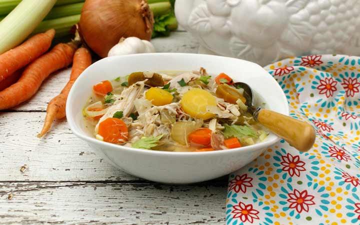 طرز تهیه سوپ مرغ - طرز تهیه