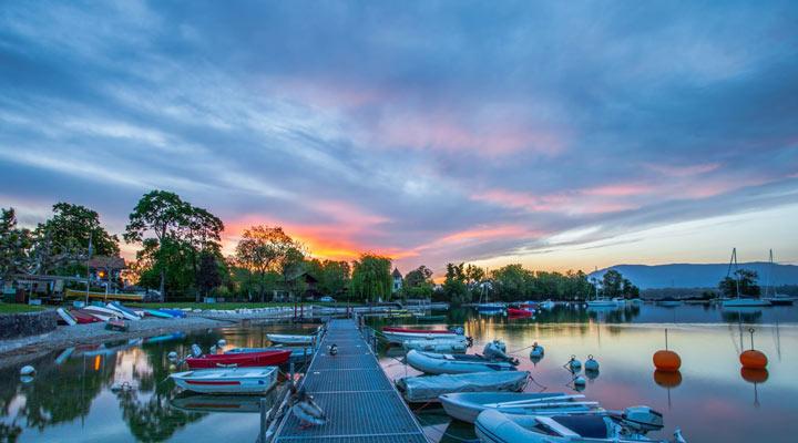 سفر به سوئیس - دریاچهی ژنو