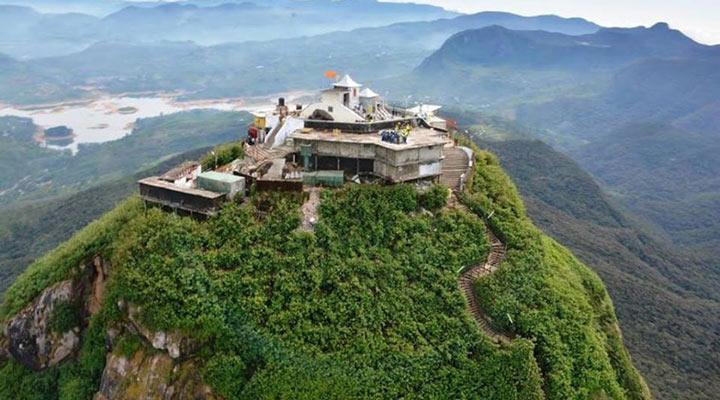سفر به سریلانکا - قلهی آدم