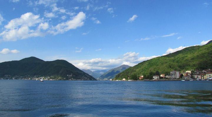 سفر به سوئیس - دریاچهی لوگانو