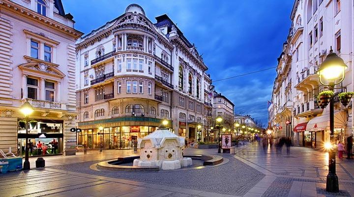 جاهای دیدنی بلگراد - خیابان کِِنِز میهایلُوا
