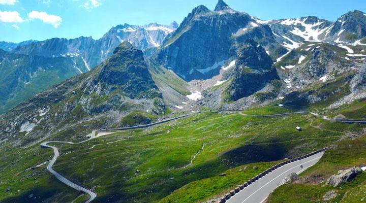 سفر به سوئیس - گذرگاه سِنت برنارد