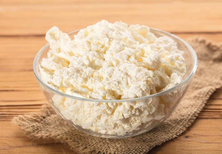 انواع پنیر - پنیر کاتیج (Cottage Cheese)