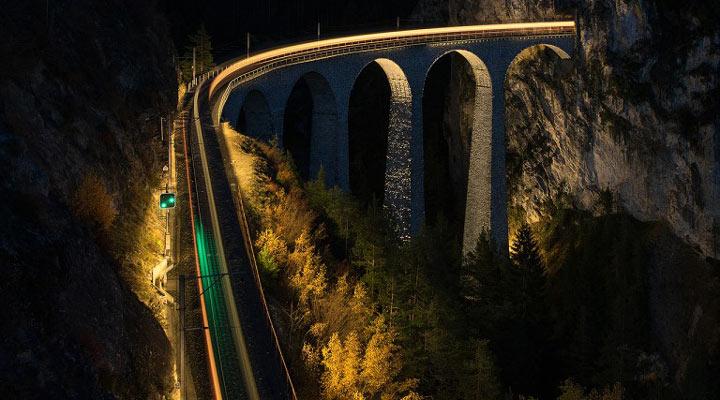 سفر به سوئیس - راهآهن ریشِن