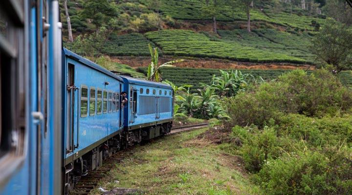 سفر به سریلانکا - مسیرهای راهآهن