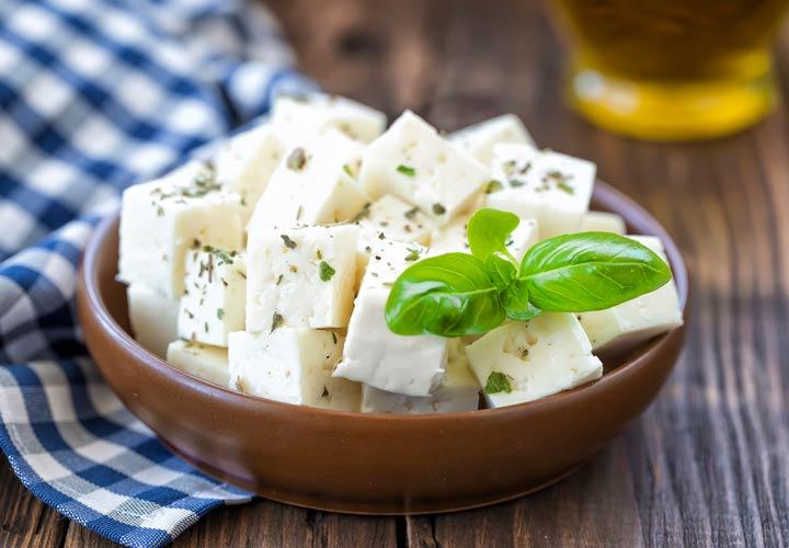 انواع پنیر - پنیر فتا (Feta)
