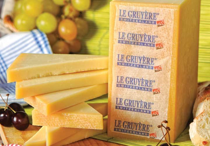 انواع پنیر - پنیر گرویِر (Gruyère)