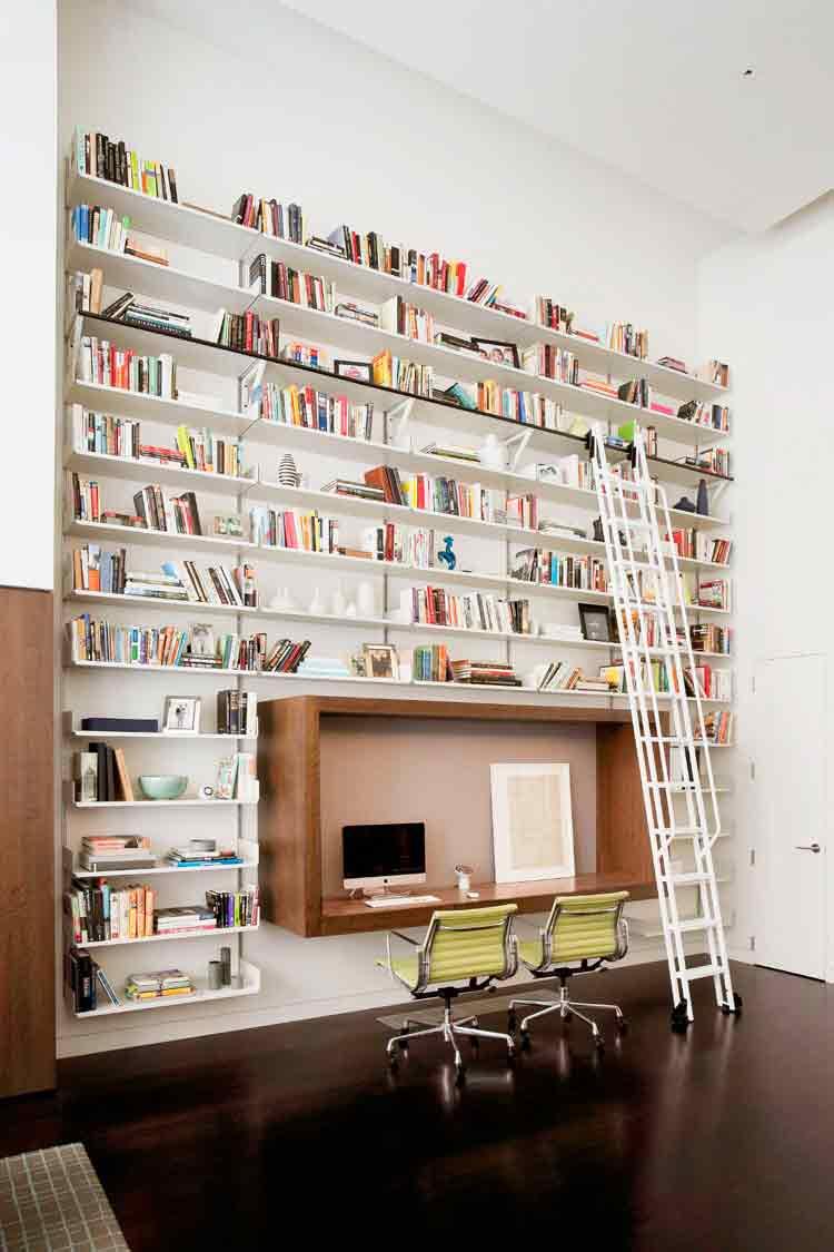 کتابخانه- دکوراسیون اتاق کار