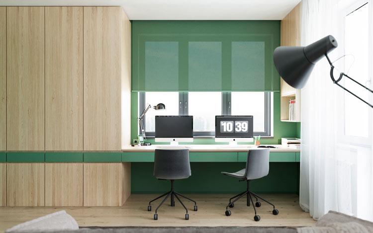 رنگ ها - دکوراسیون میز کار