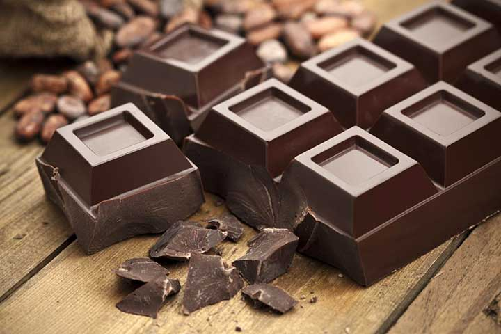 شکلات تلخ ، سرشار از آنتی اکسیدان