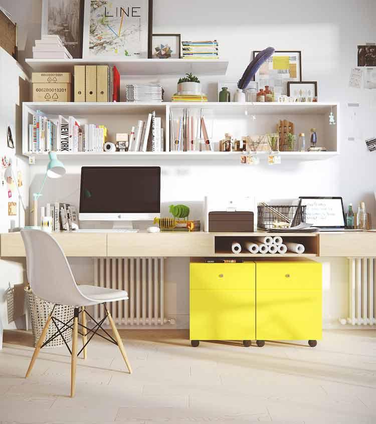 قفسه- دکوراسیون اتاق کار
