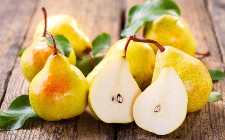 خواص گلابی - ویژگیهای میوهی گلابی